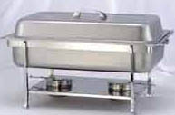 Heavy Duty Stainless Steel Chafer