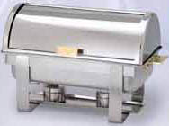 Stainless Steel Roll Top Chafer