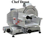 Manual Straight Feed Meat and Cheese Slicer