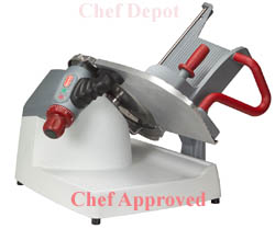 New X13 Manual Gravity Feed Meat and Cheese Slicer