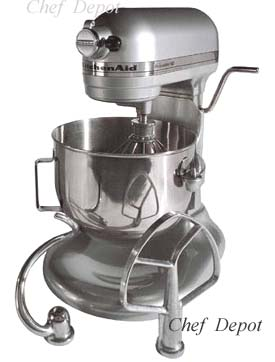 This Is The New Commercial Kitchen Aid 6 Qt Heavy Duty Stand Mixer It Features A Stainless Steel Bowl Beater Attachment Dough Hook And Wire Whip Along