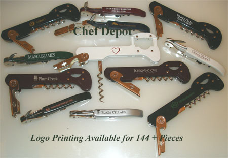 Wedding and Company and Corporate Wine Openers