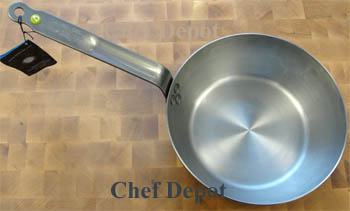 Heavy Duty Steel Chef Pan