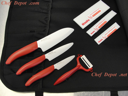Ceramic Kyocera Knife  Set On Sale