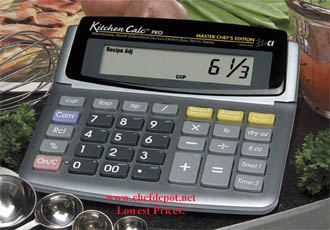 Counter Top Kitchen Calculator