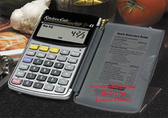 kitchen calculator recipe conversion digital large easy to use