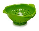 Earth Friendly Green Colanders