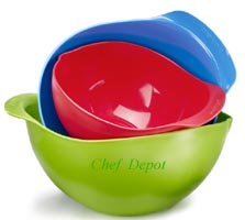 Earth Friendly Green Mixing Bowls