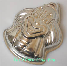 Clown Cake Mold