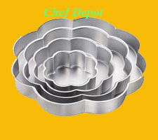 Spring Flower Petals Cake Pan Set