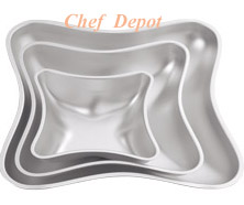Pillow Wedding Cake Pan Set