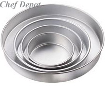 Round Tiered Wedding Cake Pan Set