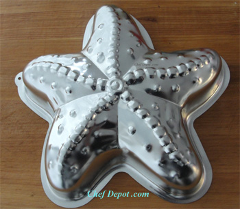 Starfish Ocean Theme Cake Mold