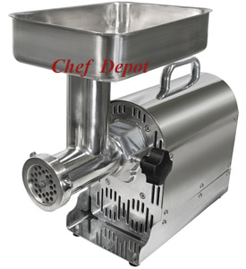 Butchers Style Meat Grinder with Attachments