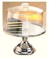 cake stand with cover lid