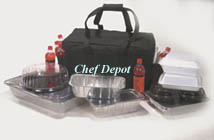 Heavy Duty Black Insulated Catering Bag