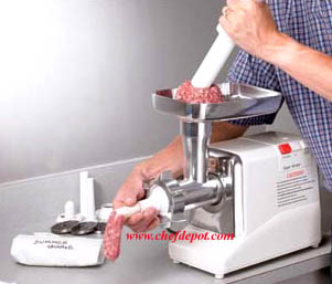 Meat grinders cajun cookware 4 pound per minute meat for Alpine cuisine meat grinder