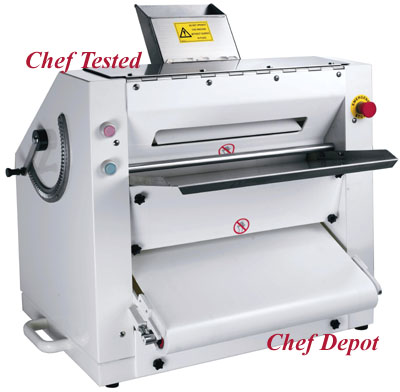 pizza dough flattener machine