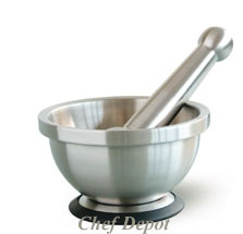 Metal Mortar & Pestle