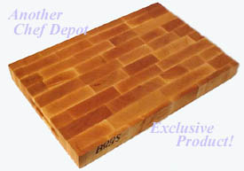 John Boos Eng Grain Maple Cutting Board