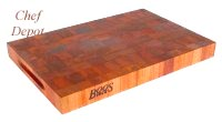 John Boos Eng Grain Cherry Cutting Board