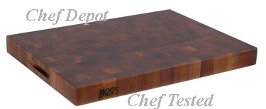 John Boos End Grain Walnut Cutting Board