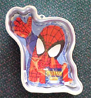 Spiderman Cake Mold