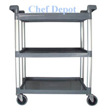 Heavy Duty Bus and Food Prep Cart