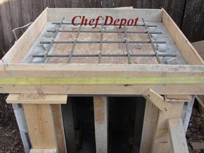 How to DIY wood and brick pizza oven for new patio