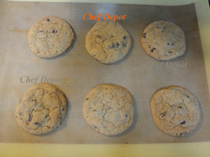 Non Stick Silicone Baking Liners are great for cookies