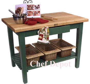 60 x 30 colored country workstation - Kitchen Tables Clearance