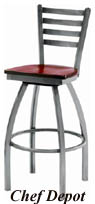 Melissa Ann Ladder Back Swivel Stool