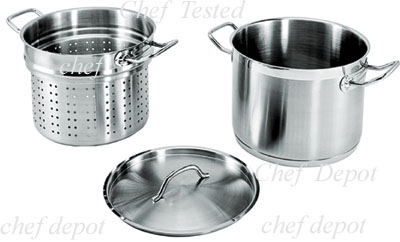 Heavy Duty Stainless Pasta Cooking Pot