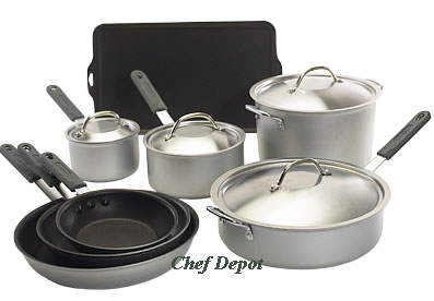 12 Piece USA made Cookware Set