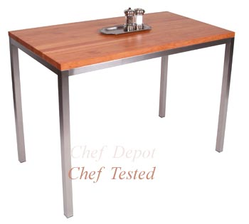 Metro Stainless Steel Center Table