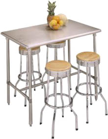 Ordinaire Cucina Classico Stainless Steel Table