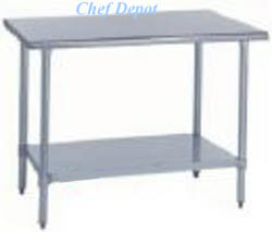 Economy Stainless Steel Table