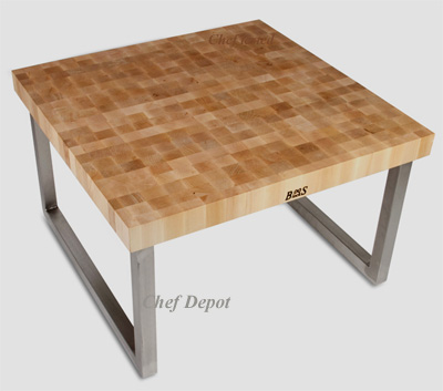 John Boos Metro Designer Series Tables And Butcher Blocks