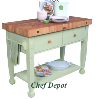 Maple Butcher Block, Boos, Maple Tables & Kitchen Carts ...