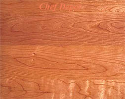 Edge grain Cherry Wood Kitchen Counter Top