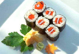 Finding Fish in Sushi