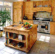Kitchen Island Maple Top