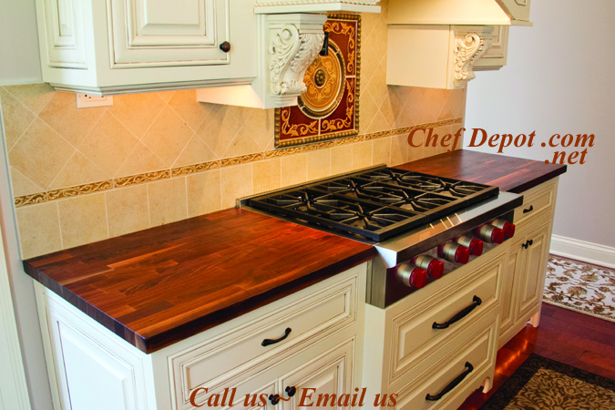 Magnificent Butcher Block New Kitchen Counters Butcher Block Table Beutiful Home Inspiration Cosmmahrainfo