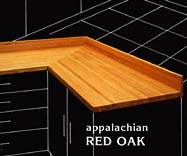 Red Oak Counter Top