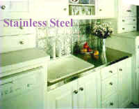 Kitchen Stainless Steel Counter Top