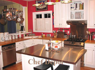 Stainless Steel Island Top (pictured Is A 48 X 32 Aprox. $520.00)