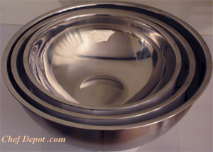 Stainless Steel Nesting Mixing Bowls