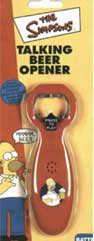 Talking Beer Opener - The Simpsons
