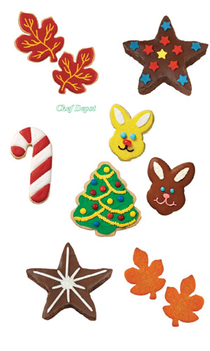 Easy Sugar Cookies with our Cookie Cutters
