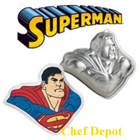 Super Man Cake pan